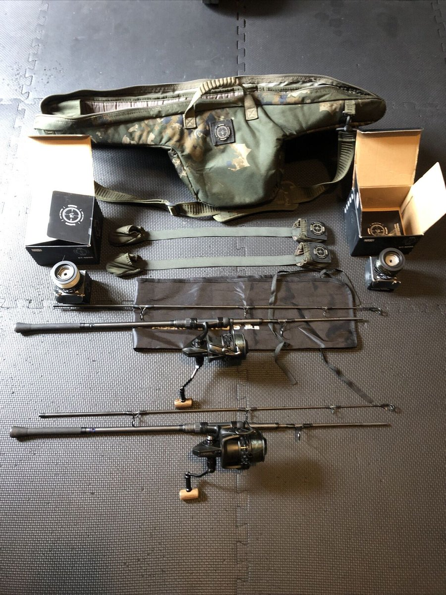 Ad - Nash Scope Sawn Off Set Up On eBay here -->> https://t.co/IOiNIZnedm  #carpfishing #fishi