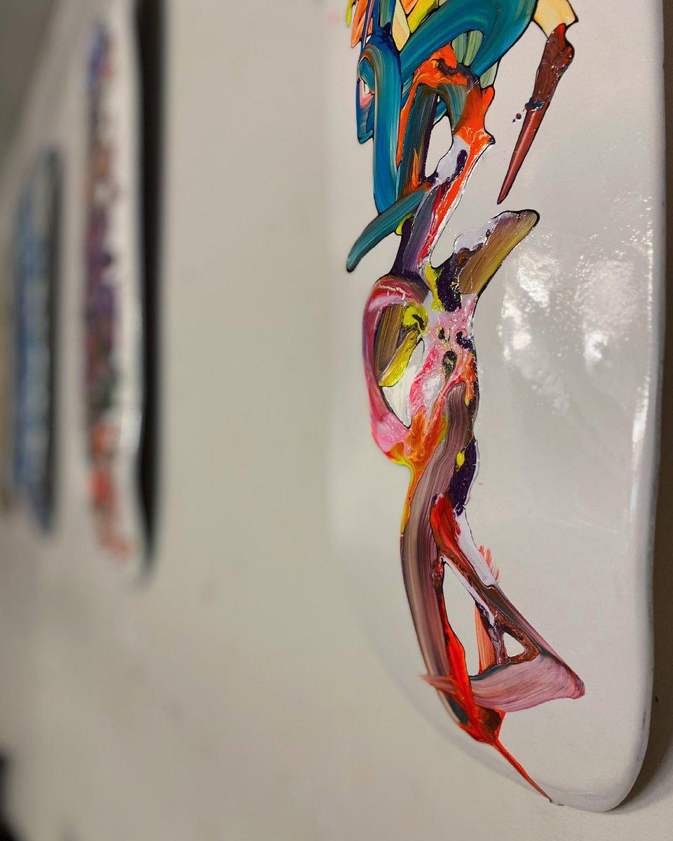 "test ツイッターメディア - SLICK LICK Art Show ""#書道展""  6/1-30 [平日]11:00-15:00 18:00-20:00 [土日]11:00-20:00 at @menson_rage 来てねー #skateboardart #skateboard #graffiti #graffitiart #sprayart #streetart #handstyler #スケートボード  #グラフィティ #グラフィティアート #ストリートアート #個展 https://t.co/GPxt3HAXiw"
