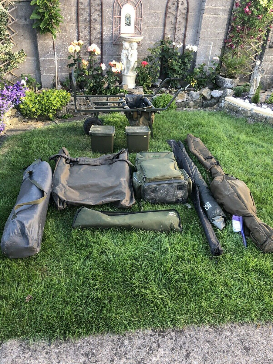 Ad - Complete Carp Fishing Set Up For Sale On eBay here -->> https://t.co/gSOwTnW7f6  #carpfis