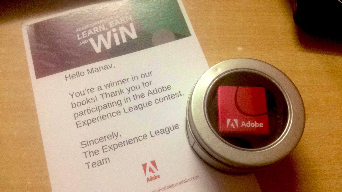 manavluhar: Thank you @AdobeSummit #ExperienceLeague 😍 https://t.co/QRtwdizJT3