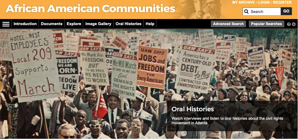 test Twitter Media - From AM Explorer, we have African American Communities, which explores different aspects of the African American community through pamphlets, newspapers and periodicals, correspondence, official records, reports and in-depth oral histories:  https://t.co/tv8PuLBRrA https://t.co/MvEEFEDXSF