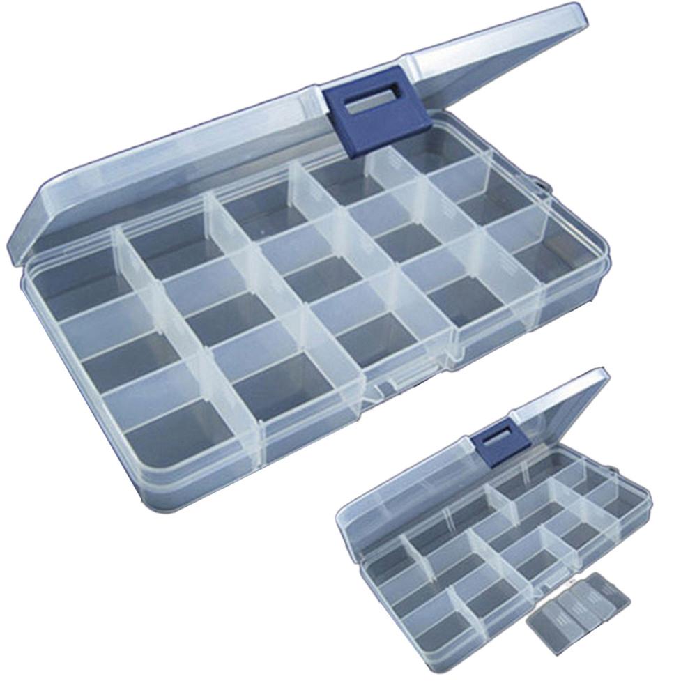 Portable 15 Slots Adjustable Plastic Fishing Tackle Storage Box #love #carp<b>Fish</b>ing https://t.