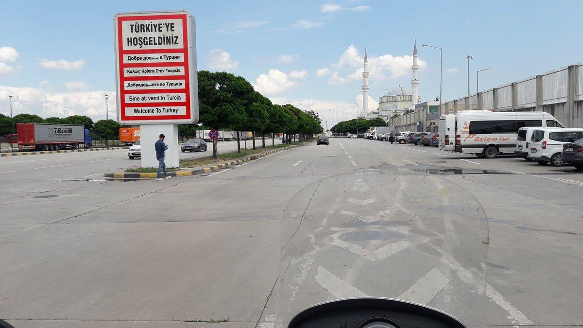 test Twitter Media - Na wjeździe do Turcji łatwo nie było: sprawdzanie szczepienia covidowego, zielonej karty, bagażu, jakieś spryskiwanie pojazdów... Ale udało się:-) 250 km do Istanbułu. https://t.co/1RiwBS05jw