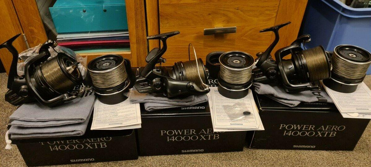 Ad - Shimano Power Aero XTB Ci4 1400 x3 On eBay here -->> https://t.co/y7cxp6xVN0  #carpfishin