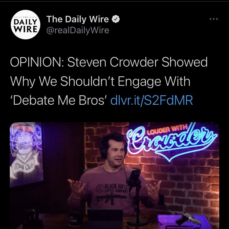 test Twitter Media - The Daily Wire: Also the Daily Wire: https://t.co/rQM0ORz4YO