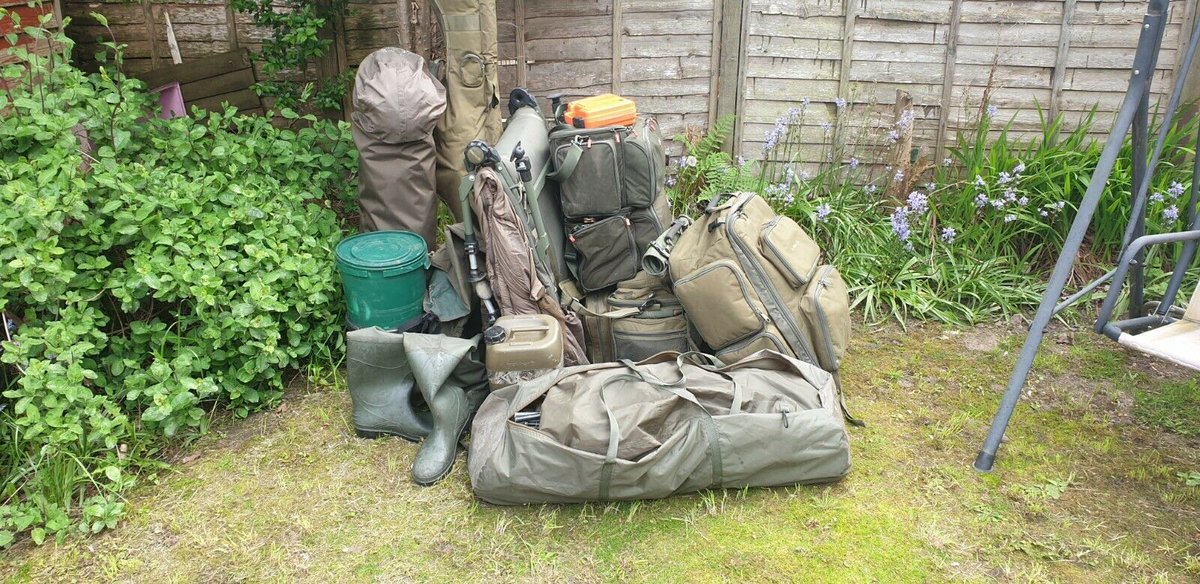 Ad - Carp fishing tackle full set up for <b>Sale</b> On eBay here -->> https://t.co/2FgoRuvzaO