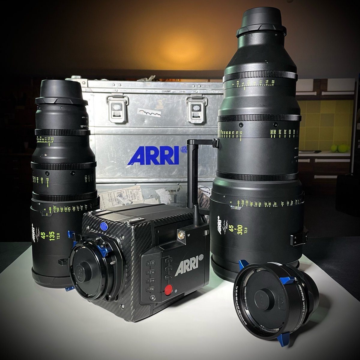 This week at Visual Impact we have been helping our clients get hands-on with ARRI's new Signature Zooms. If you haven't already ordered, give us a call for info on how to secure yours!