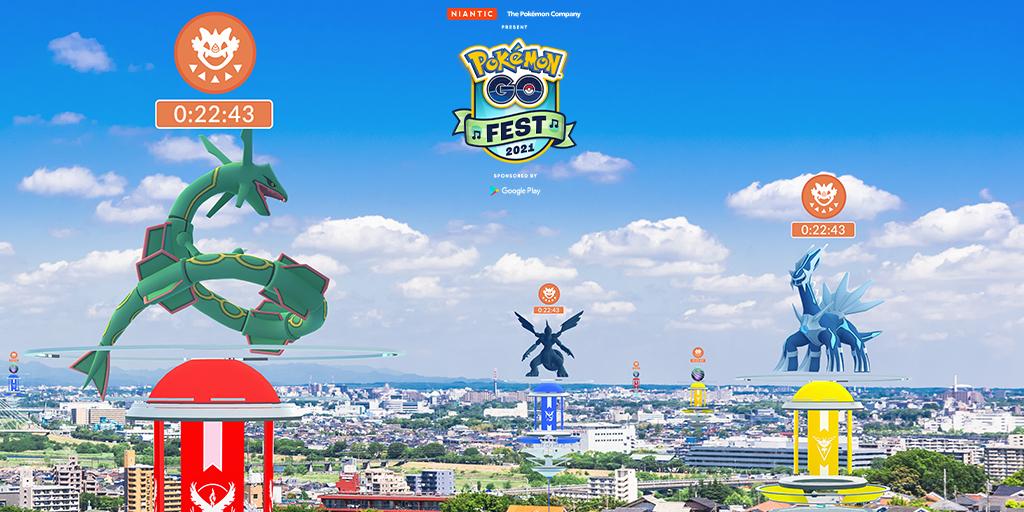 test ツイッターメディア - これまで『Pokémon GO』に登場したすべての伝説のポケモンが「Pokémon GO Fest 2021」の2日目に「伝説レイドバトル」に登場します!  #ポケモンGO  https://t.co/CmdarXPFLl https://t.co/WebJ6t4SVf