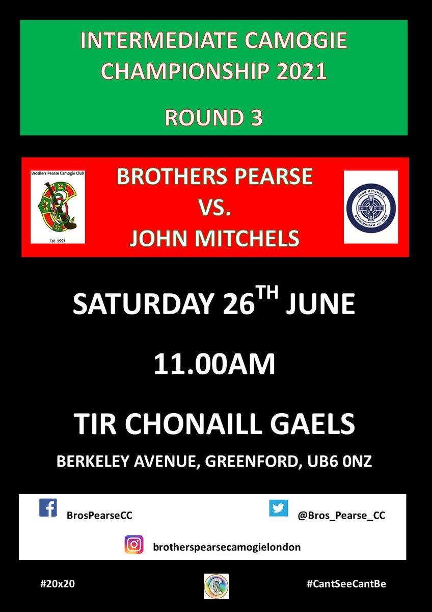 test Twitter Media - Next match:  📅 Saturday 26th June 🆚 John Mitchels 🕚 11.00am 📍   Greenford  #camogieinlondon #WomenInSport https://t.co/zeu4lDdHpH