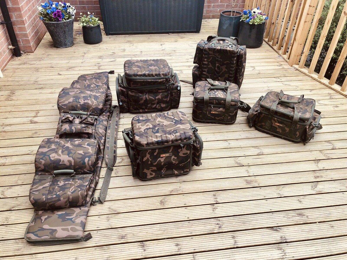 Ad - Fox Camolite Complete Luggage Set On eBay here -->> https://t.co/SXQW68D5Hu  #carpfishing