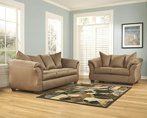 Amazon Brand Rivet Revolve Modern Upholstered Loveseat Sofa - a good cheap...
