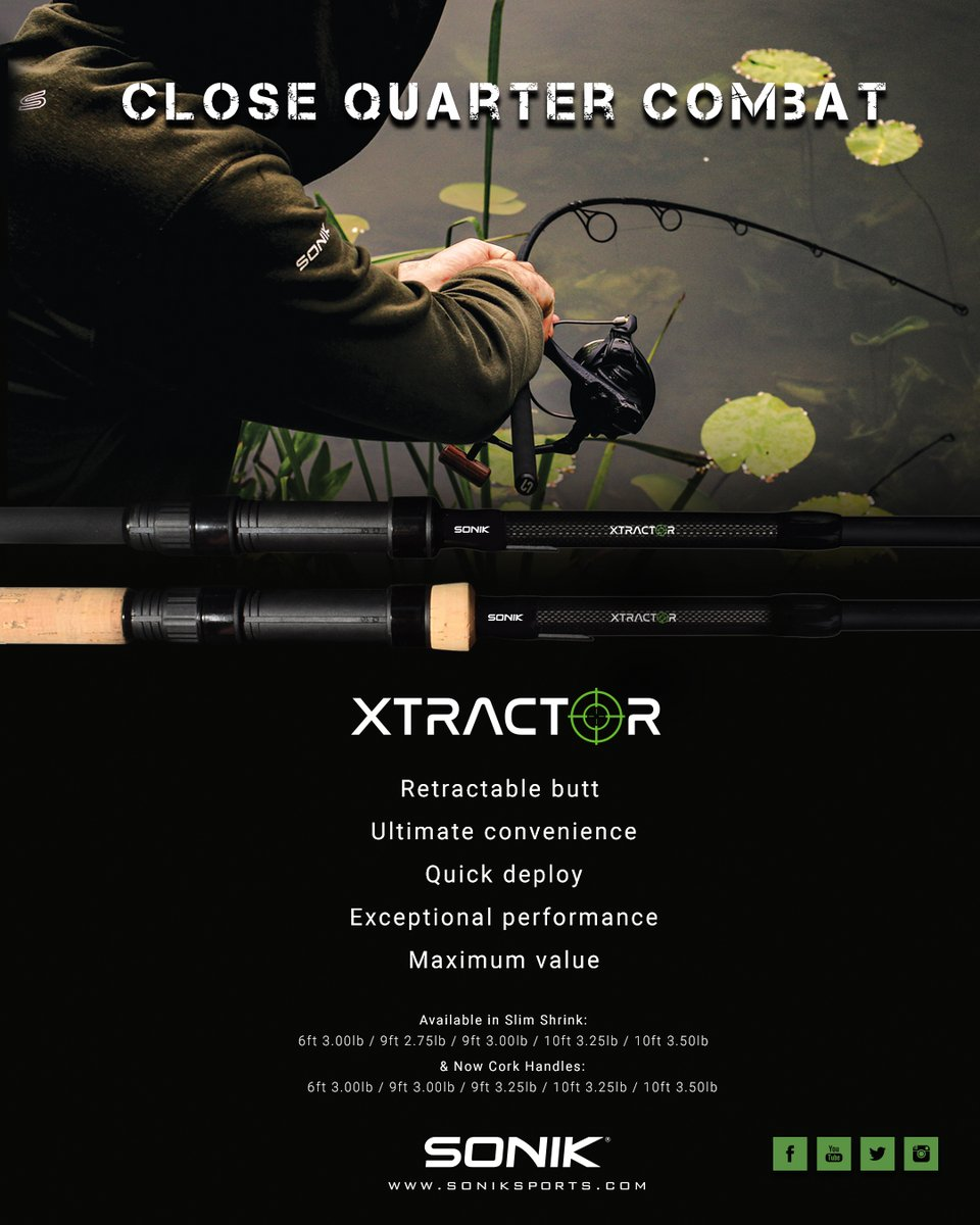 Something for the weekend sir? #Xtractor https://t.co/JEWddF1pGH #Sonik #Carpy #Holdontight #Intheed
