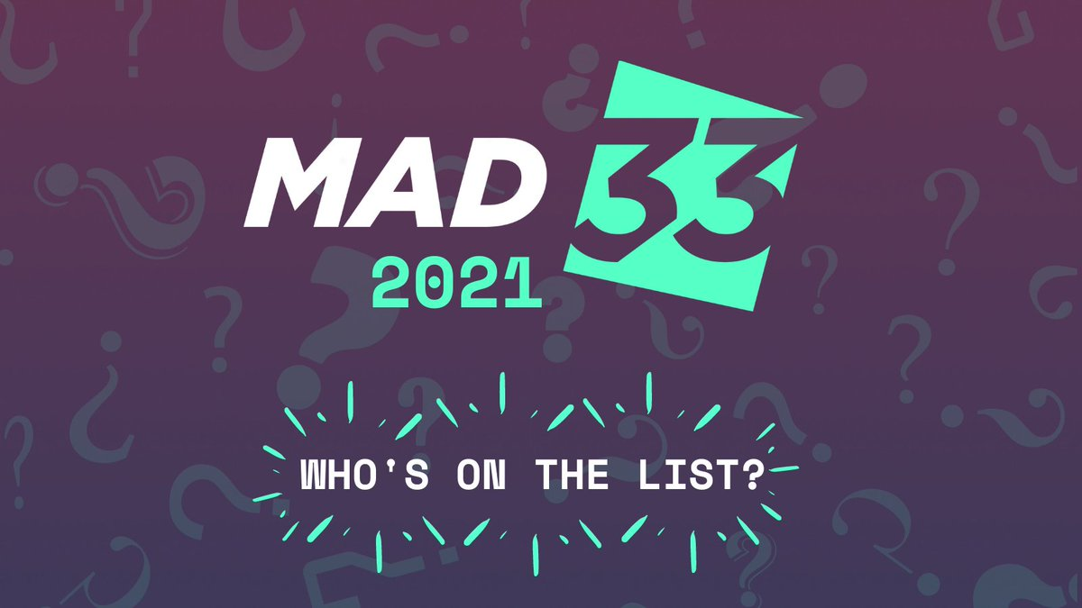 test Twitter Media - ALERT! Next week our judges are meeting to whittle down the 100's of nominations to get our next MAD33 2021. Keep a lookout: https://t.co/qeErteysSd https://t.co/MQAvSZF9y2