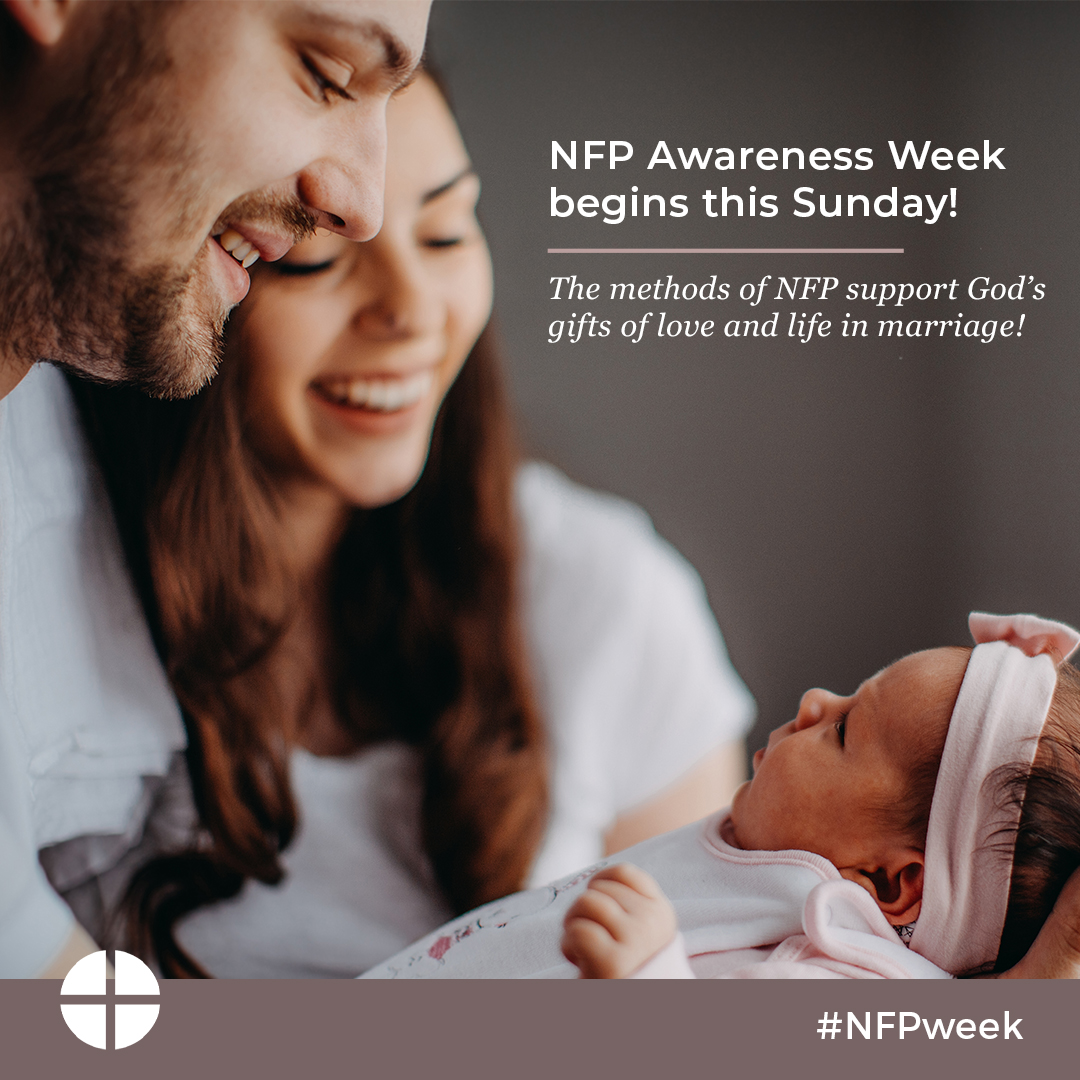 test Twitter Media - Every year we take a week in the summer (near July 25) to remember God's design for married love and the gift of life. This year, NFP Awareness Week is July 25–31. https://t.co/Q8s0oDzgXl #nfpweek https://t.co/bVibaMAzXz