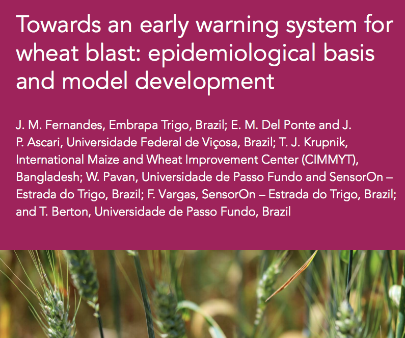 test Twitter Media - Our book chapter on epidemiology and risk prediction of #wheatblast is online and open access!  🔗 https://t.co/5v65PIuaII  #beattheblast #openwheatblast @OpenPlantPath https://t.co/kgLKt0UPU3