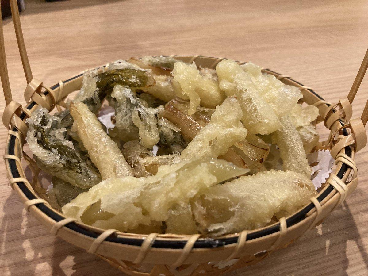 test ツイッターメディア - しゃくしな天ぷら、味噌ポテト、秩父錦を食べました♪ https://t.co/FE71zvNj1T