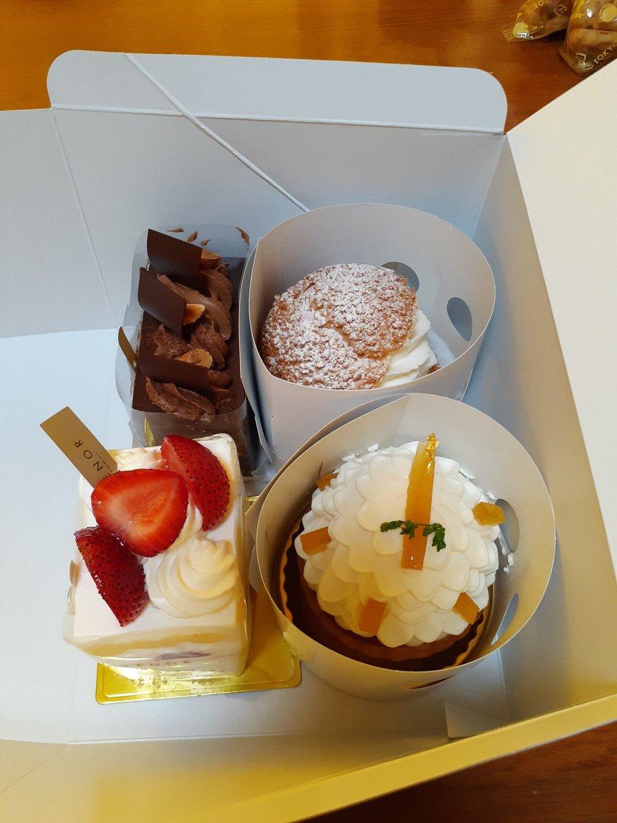 test ツイッターメディア - 今日は結婚記念日。#アンテノール と #ガトードボワイヤージュ でケーキ買ってきた。ガトー・ド・ボワイヤージュのふわとろ焼きチーズケーキがめっちゃ好き。ちょっと塩気があって甘じょっぱいチーズケーキの味が絶妙。美味しかった。 https://t.co/kqOfH3PMOZ