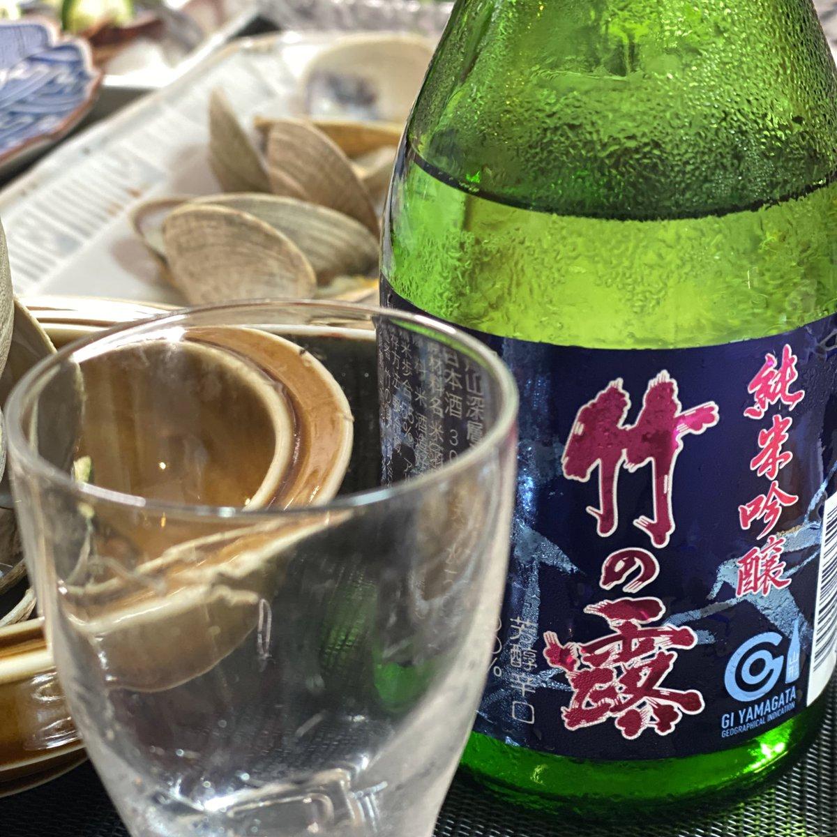 test ツイッターメディア - 本日の日本酒は亀の井酒造の「くどき上手」そして竹の露の「純米吟醸 竹の露」。 極楽極楽。 https://t.co/sXzOCaVXDC