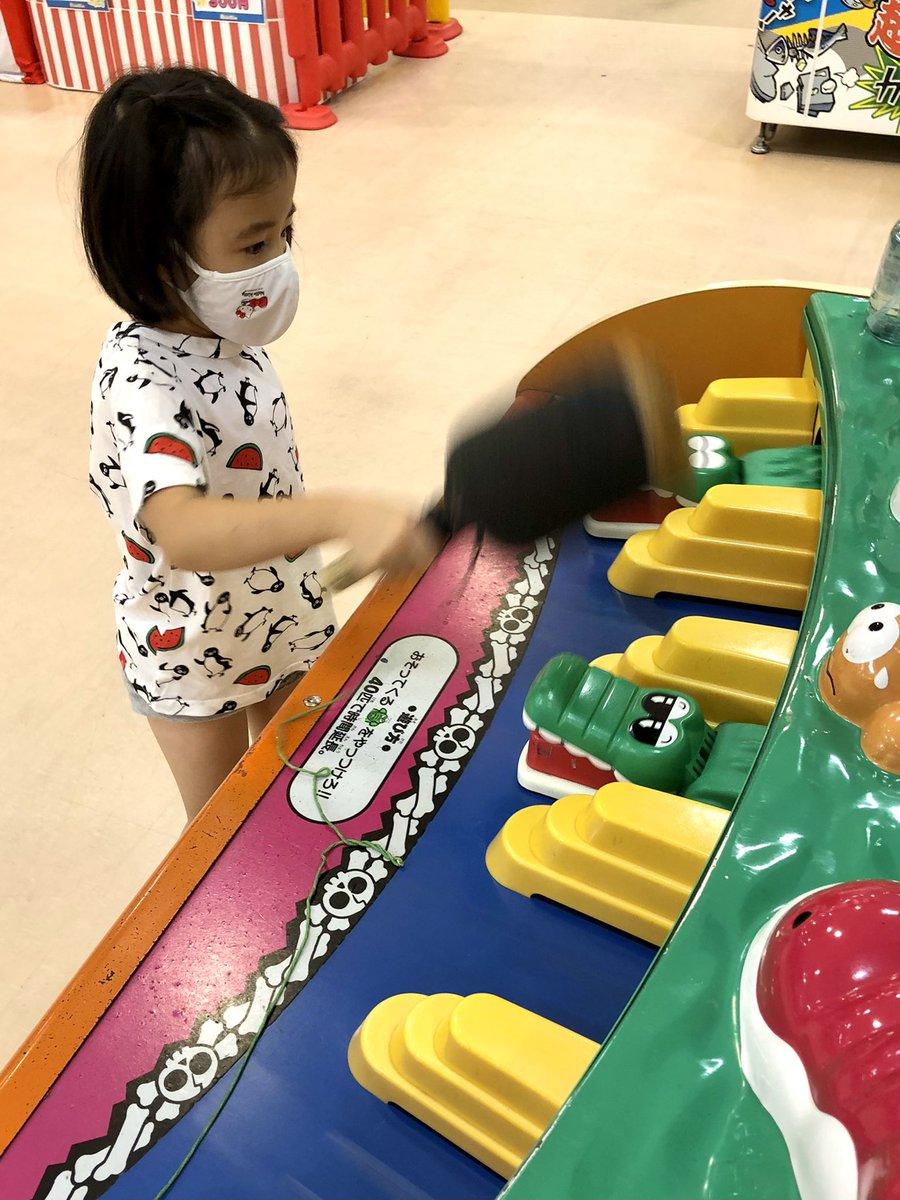 test ツイッターメディア - 娘とデート @ 浅草の室内遊園地。お土産は、浅草といえば舟和の「芋ようかん」‼️ https://t.co/2gwKRZlWix