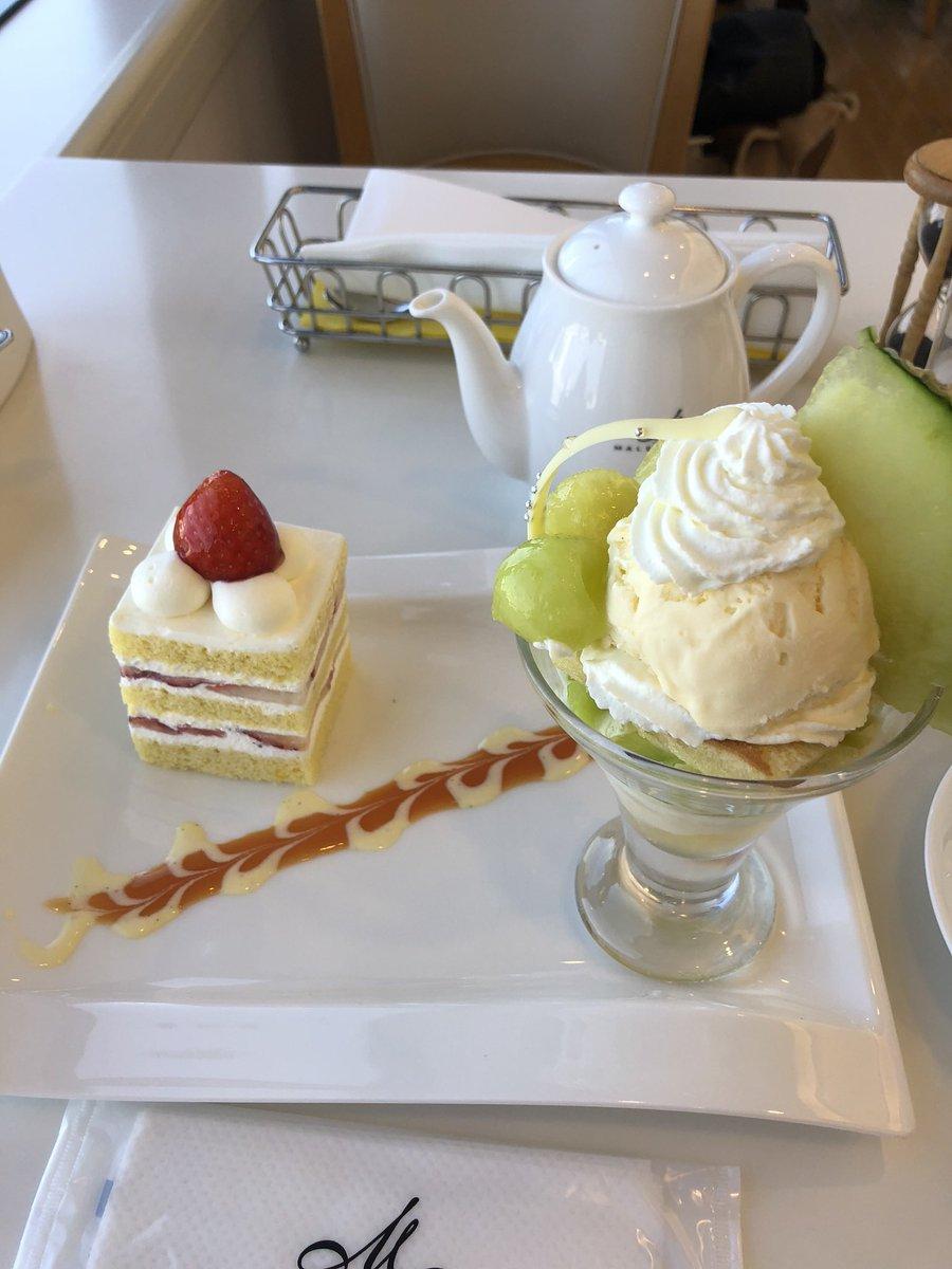 test ツイッターメディア - パフェももちろん美味しかったですけど、パンケーキもめちゃくちゃ美味しかったなぁ。今メニューに無いですが。後、マールブランシュといえばモンブラン  #ありがとう伊勢丹サロン https://t.co/01cVyRSeB1