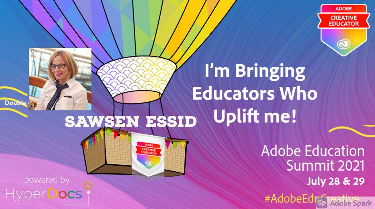 sawsen_essid: @AdobeForEdu n@AdobeSpark n@AdobeSummit n@AdobeCreativeEducatorn@HyperDocs https://t.co/jF9B0crjVe