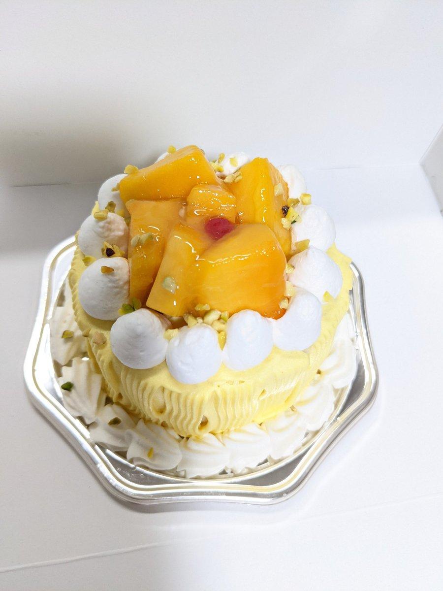 test ツイッターメディア - シベールのマンゴーケーキ(人 •͈ᴗ•͈) https://t.co/LM0DmGXcCk