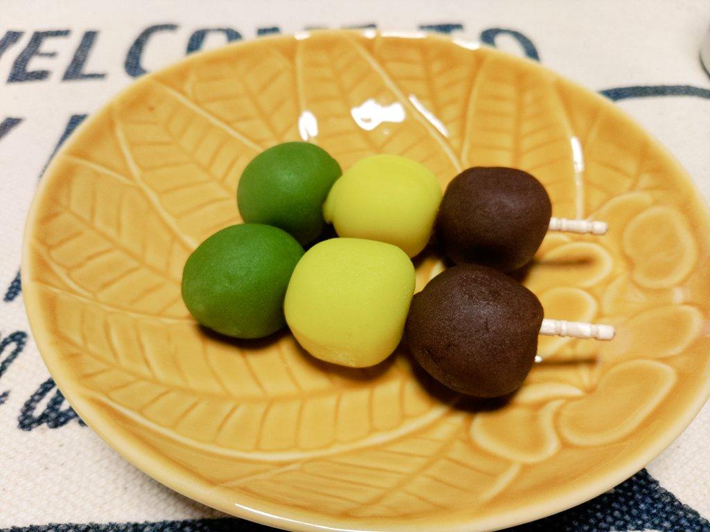 test ツイッターメディア - @omosiroibakemon とても美味しくいただきました グラタンだけなら40分位(アスパラベーコンはオーブンでグラタン仕上げてる間にできます) 食後に愛媛フェアで買っておいた坊っちゃん団子🍡 https://t.co/dgd0jZSOiF