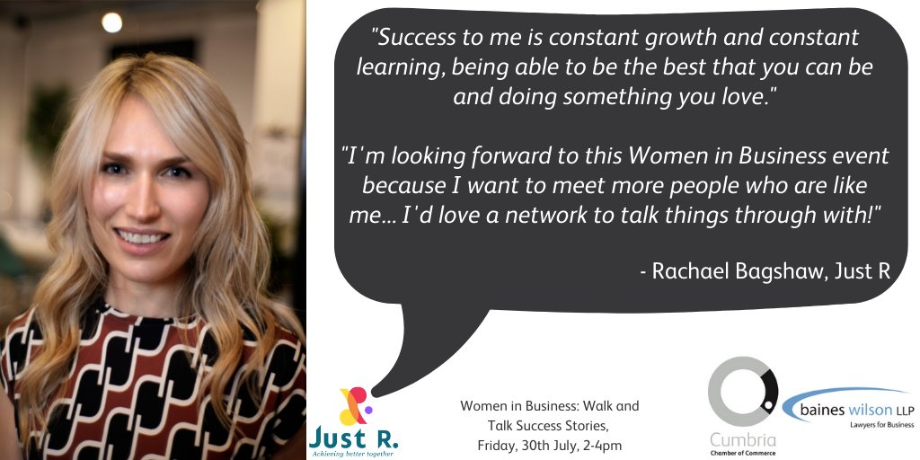 test Twitter Media - Women in Business: Walk and Talk Success stories, Friday, 30th July, have you secured your place?   Rachael Bagshaw of @WeareJustR explains what success means to her, read below⬇️  The event is FREE to Chamber members. Find out more here: https://t.co/IF834myGSW https://t.co/zB9cFZz12g