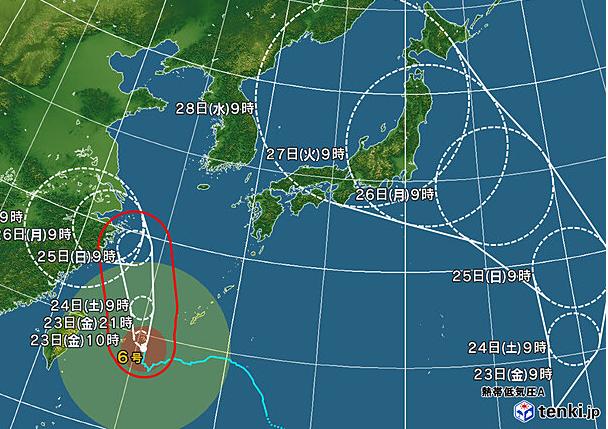 test ツイッターメディア - うわぁ…日本の南におそらく台風8号のたまごができてるぅ…  これは今週半ばに東京直撃かな。  https://t.co/i7EJQgkLrD https://t.co/rcvTkjEE5d