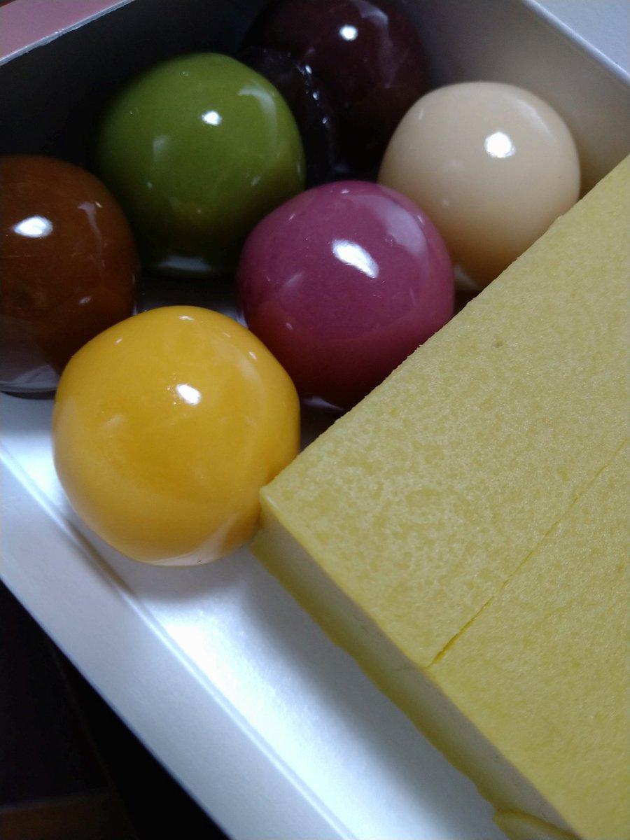 test ツイッターメディア - 美しい。 舟和の芋ようかんとあんこ玉。 美味しいー! 早くもおやつ食べちゃった。 https://t.co/crtEoRgOqD