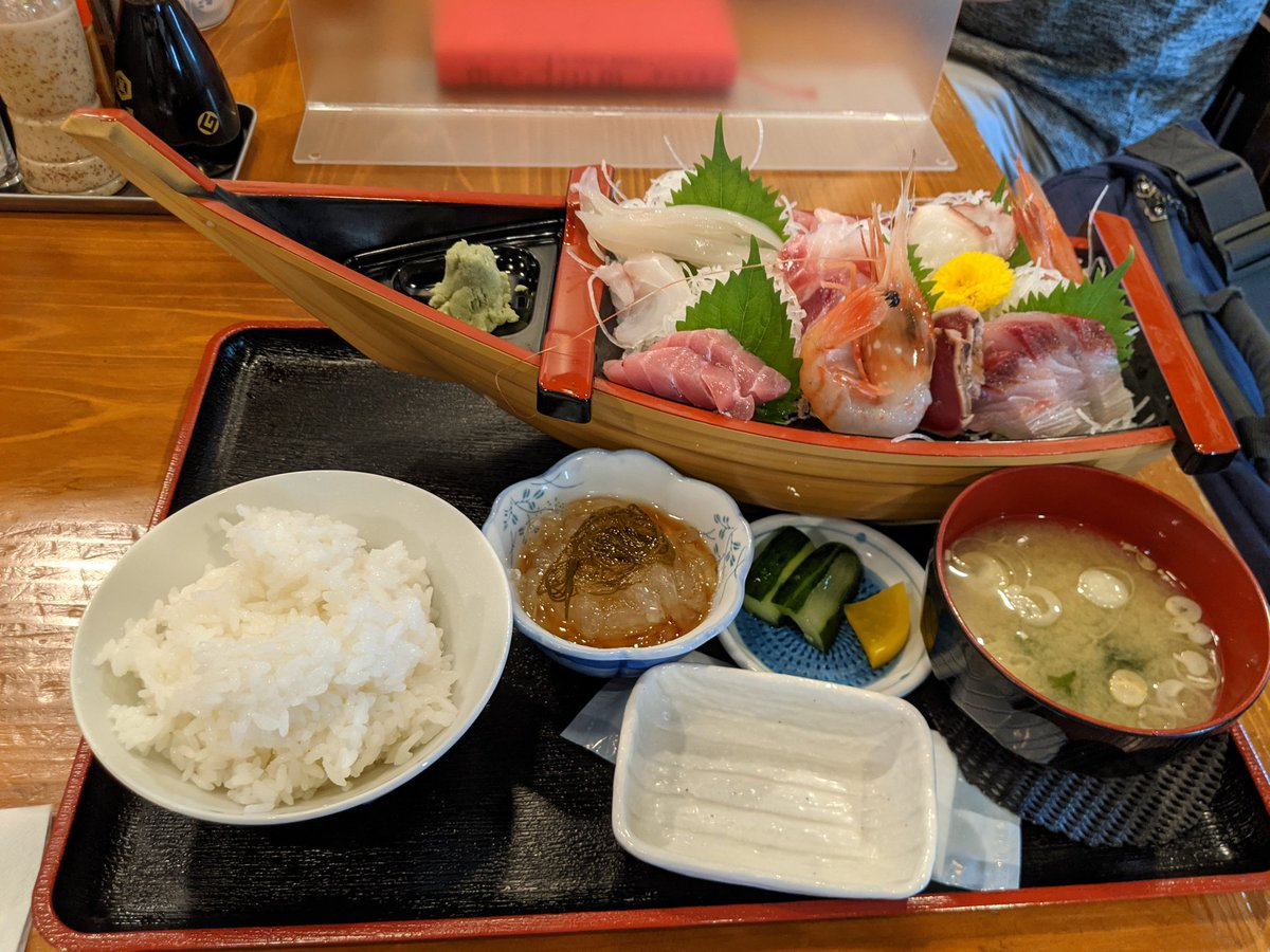 test ツイッターメディア - 今日の昼飯。 男鹿駅近くにある居酒屋秀で刺身定食と日本酒の十四代を… 十四代が置いてあったのは以外だった(笑) #kntr https://t.co/j6wQH9WW5R