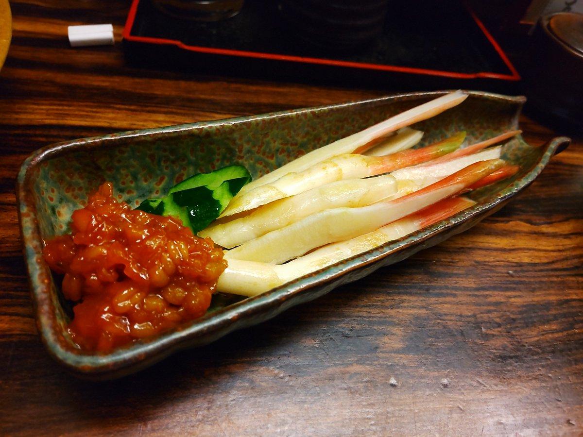 test ツイッターメディア - #歩歩 さんイートインでは初めてお邪魔してます。 牛ヒレにんにく焼はにんにく感があるけど臭すぎなくて丁度良い 肝入りスルメイカ炙りはしょっぱいけどイカの旨さを極限まで高めてますよね。日本酒が止まりませんわ😂 谷中生姜で〆 合わせたお酒は十四代と日本酒3種飲み比べ 旨い肴と日本酒幸せ😍 https://t.co/rDk916ZOan