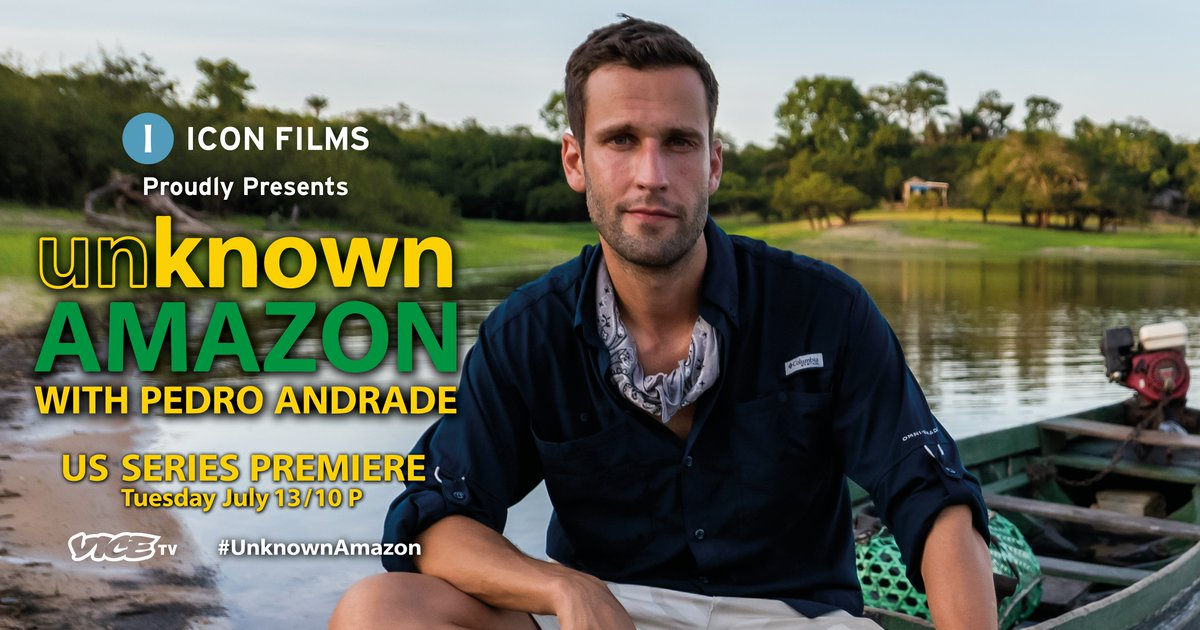 Only 30 minutes to go until the premiere of #UnknownAmazon with @pedroandradetv! https://t.co/cSjL1CAOgO