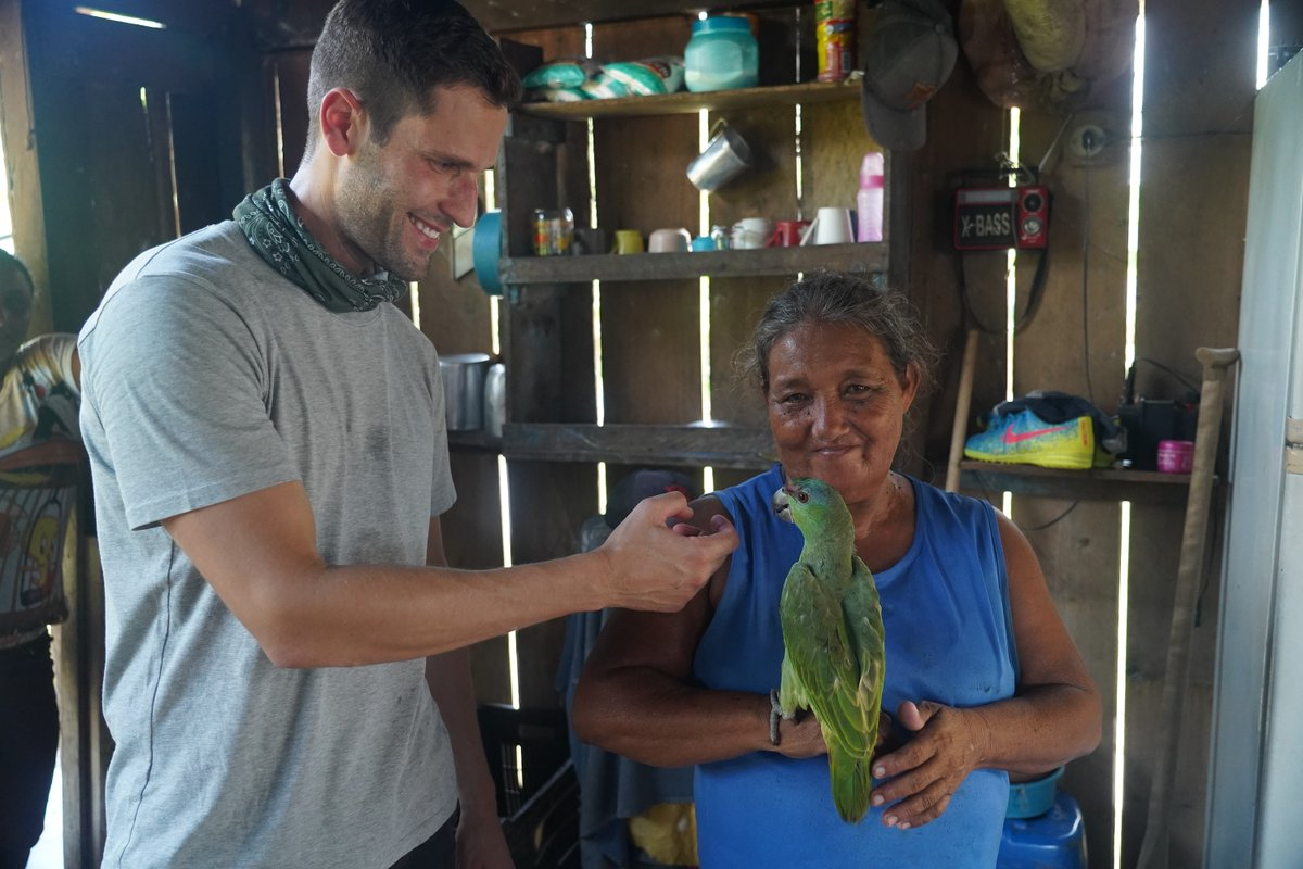 Thanks for watching! Join us next week for Ep 2 where Pedro travels to Ecuador and encounters some of the Amazon's most precious wildlife #UnknownAmazon https://t.co/Z1j6F8K7SD