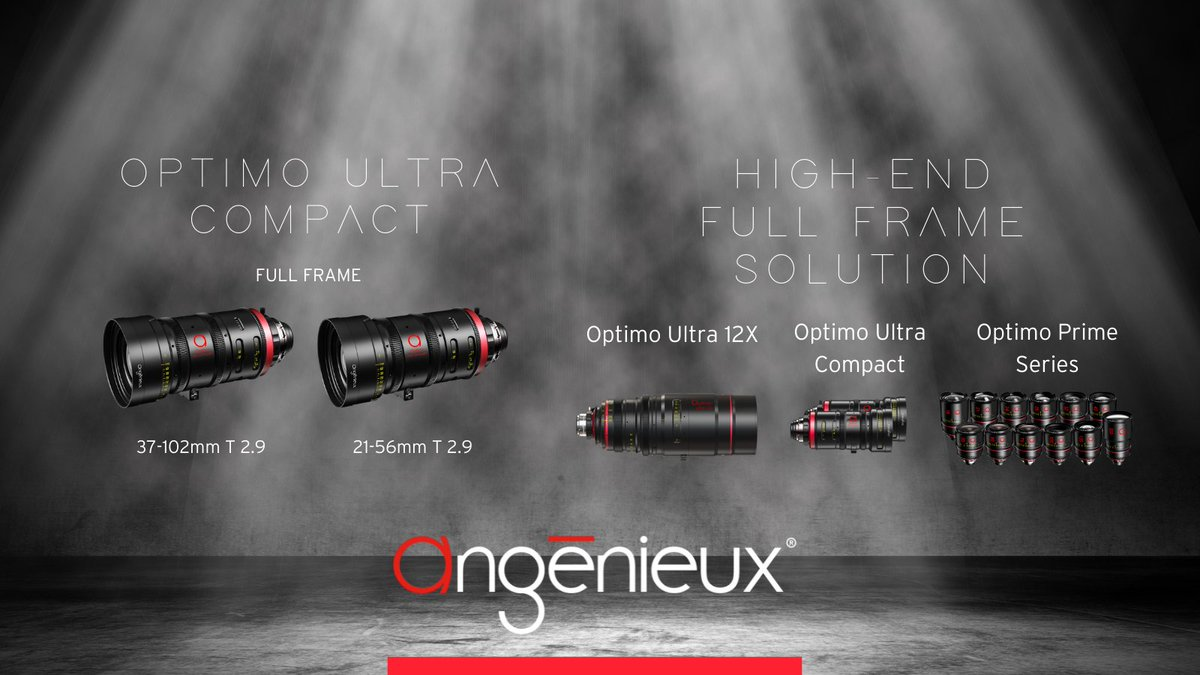RT @AngenieuxLenses: Just in from the Festival de Cannes, the mystery has been revealed! Angénieux has just announced two new full frame Op…