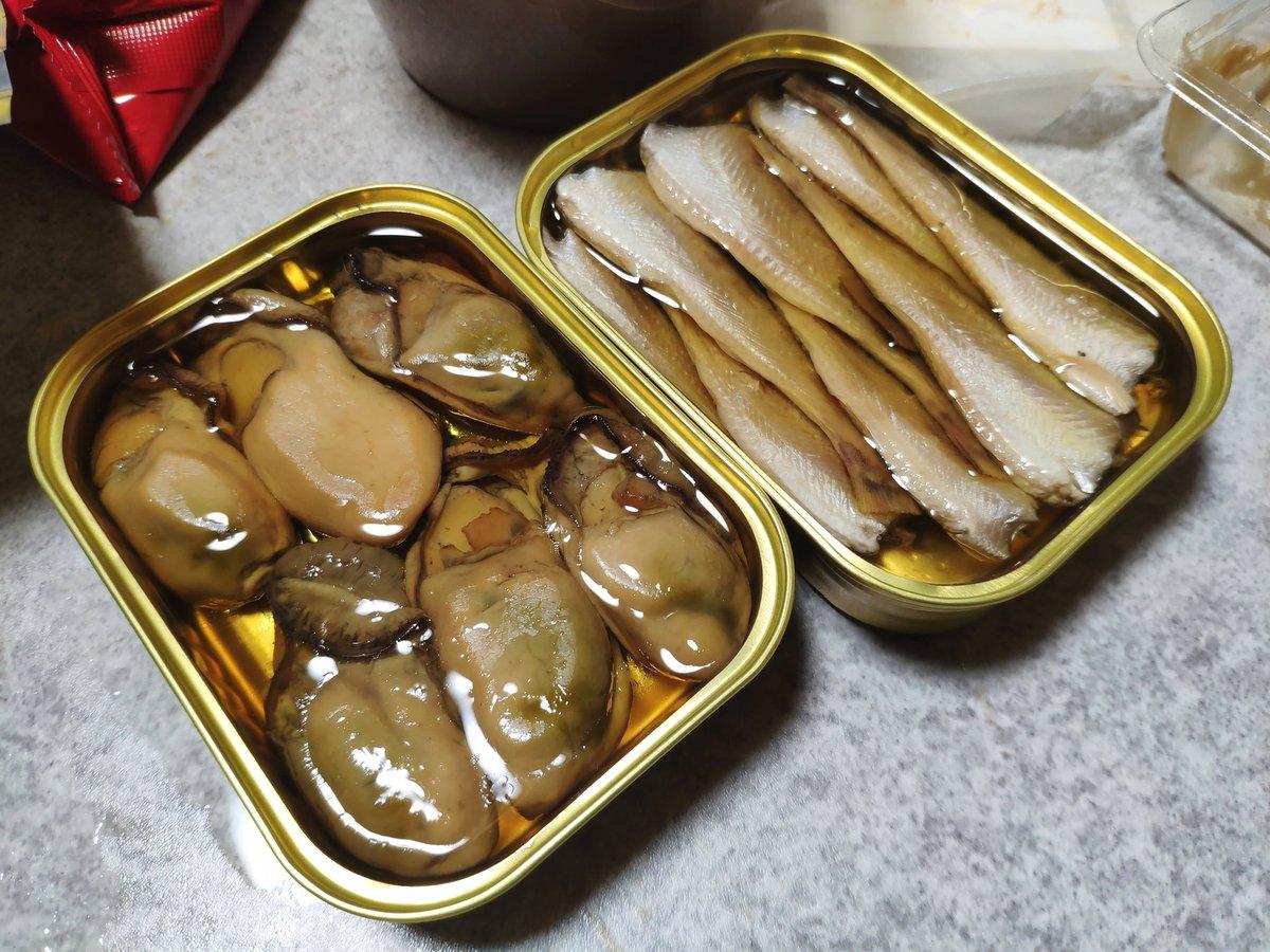 test ツイッターメディア - 玉川の木下酒造さんで買った牡蠣とハタハタのオイル漬けがめっちゃ美味しい。城崎でも見かけたから丹後の方に行けば買えるかな。 https://t.co/i6rKR60Q1P