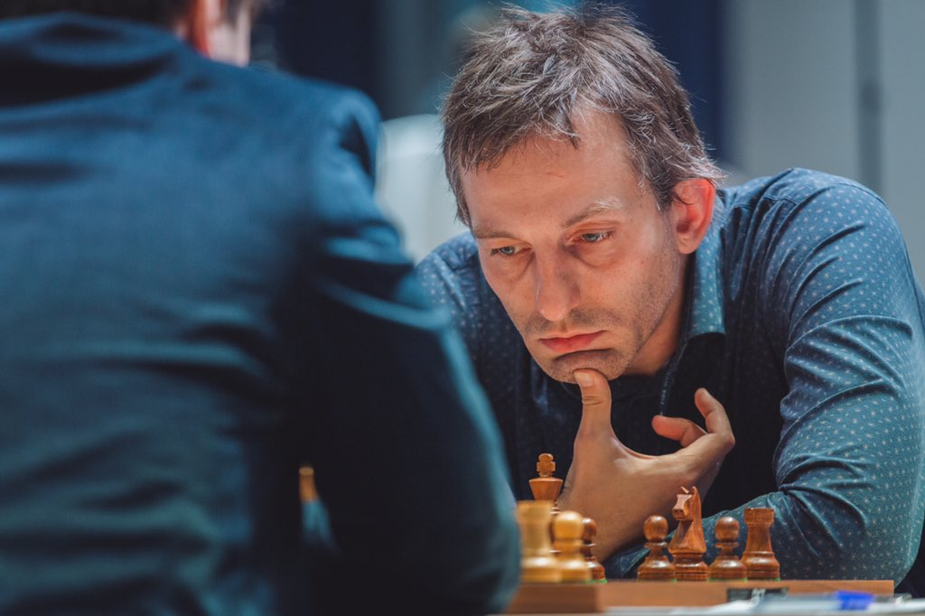 test Twitter Media - A second draw between Alexander Grischuk and Anton Korobov. They will resume their battle tomorrow in the Round 4 tiebreaks for the coveted place in the next round. #FIDEWorldCup https://t.co/SrvzeSfVnN