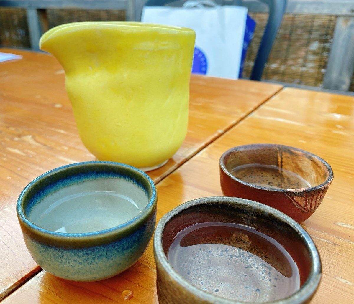 test ツイッターメディア - 毎夏恒例の納涼床🤡✨✨ 京都の夏ってかんじ☀️ 新政No.6 M-type ♡♡♡ フルーティーで少しスパークリングが入った日本酒🍶💕 https://t.co/F42qW7ys5k