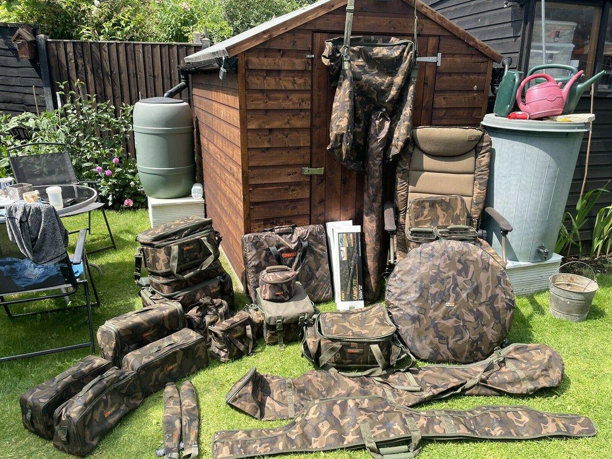 Ad - Fox Camolite luggage On eBay here -->> https://t.co/fSWvzIuP1d  #carpfishing #fishingtack