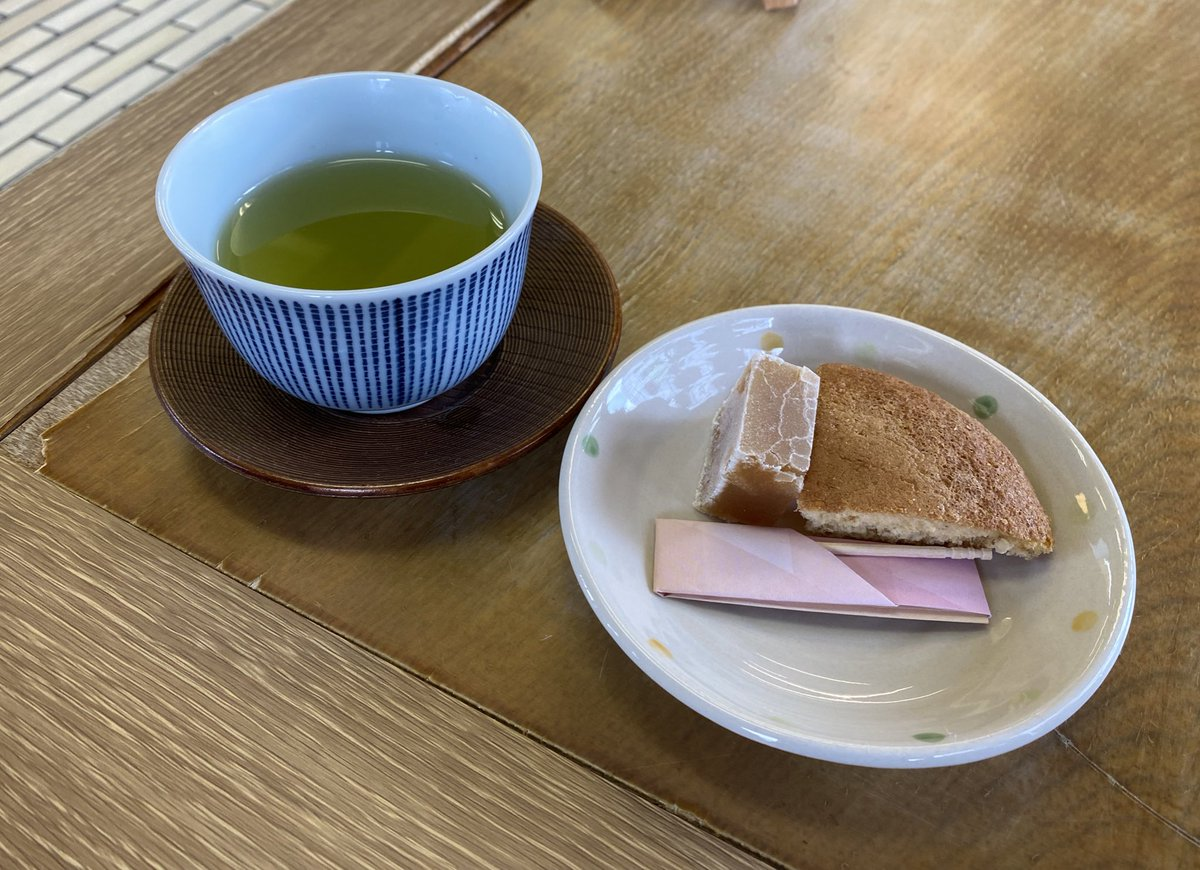 test ツイッターメディア - 小城で羊羹のお買い物😋 店内でお茶を頂きました🍵 https://t.co/WBXN0lzRNB