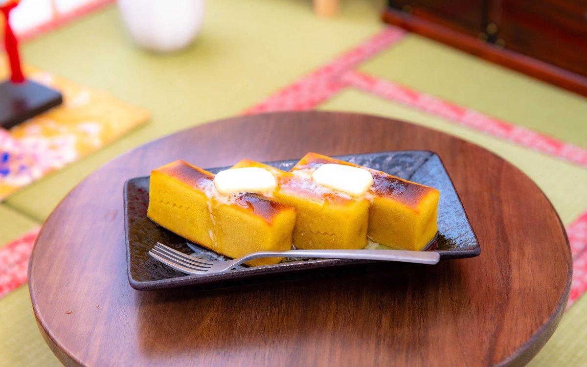 test ツイッターメディア - 食後のデザートは、にもさんの東京土産・舟和の芋ようかん。  トースターで20分、こんがり焼いてバターを乗せて… これがまた最高に美味いの!! カロリー気にせず、バターもどーんと…!  なかなか東京に行けなかったので、久々に食べました♪ にもさんおおきに~ https://t.co/PyUVWB1HpQ