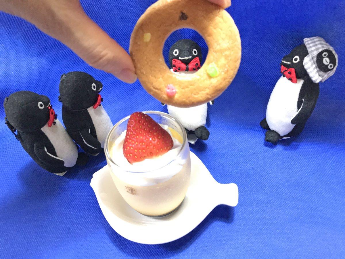 test ツイッターメディア - #Suicaのペンギン #銀座ウエストのプリン #泉屋東京店リングターツ  泉屋東京店さんのシンボルの浮輪をかたどったクッキーと、銀座ウエストさんのプリン。クッキーはカレンズ・レモンピール・アンゼリカの飾りのみ。プリンはバニラエッセンスを使っておらず、素材の持ち味を味わうことができます。 https://t.co/sRKbIJVEZJ