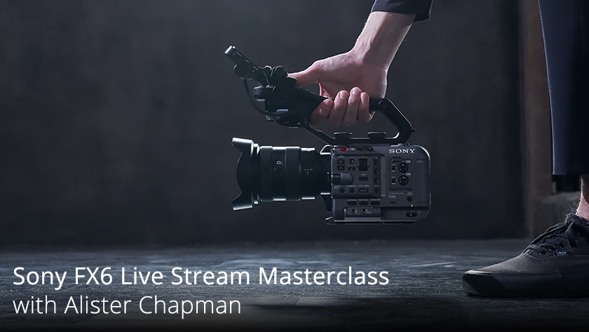 Join Sony Ambassador Alister Chapman as he takes an in-depth look into the Sony PXW-FX6 Full Frame camcorder. Register at the link below: