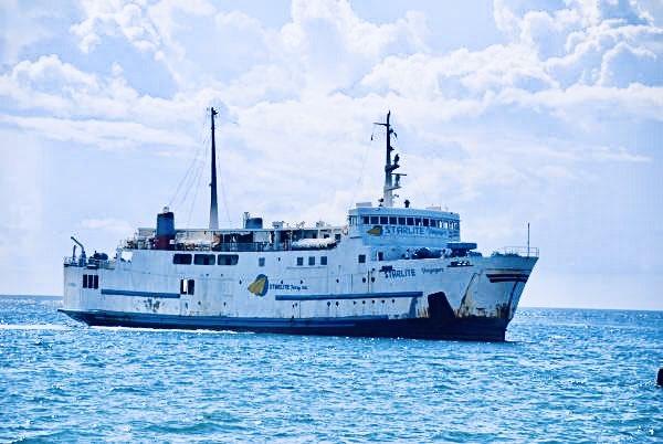 test ツイッターメディア - MV Starlite  Voyager  元 九州商船 フェリー椿  フィリピンバタンガス沖で撮影。 https://t.co/C9JjWhHjQa