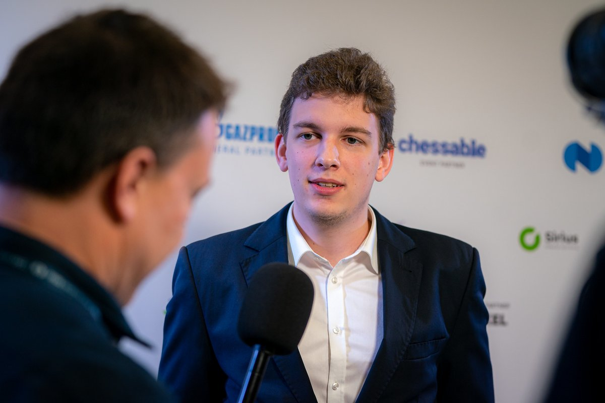 """test Twitter Media - """"The game was so complicated, it is difficult to say something clever now. I am also kind of shocked right now and exhausted, to be honest.""""  Interview with Jan-Krzysztof Duda: https://t.co/Hq83OJVDXp  #FIDEWorldCup https://t.co/bgSYXxAxUb"""