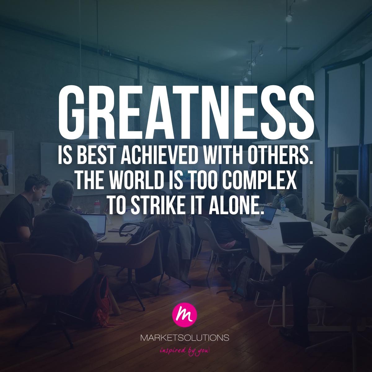 test Twitter Media - Hoe bouw jij een intelligent team om je heen om je doelen sneller te behalen? Deel het in de comments 👇  #Inspiration #Greatness #Mindset https://t.co/0UsDwVpnlH