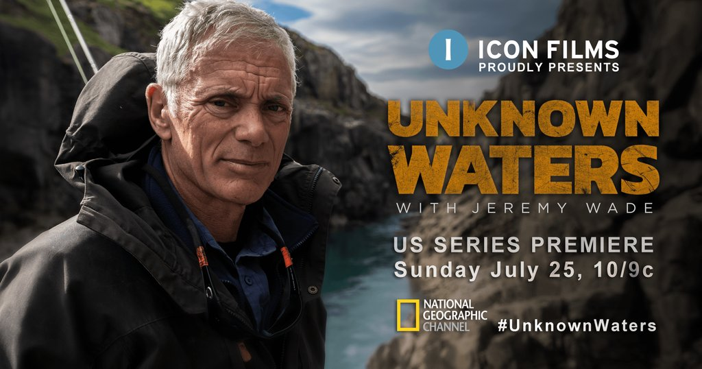 This week's #UnknownWaters is heading to the rugged wilderness of #Iceland Join #JeremyWade this Sunday at 10/9c on @NatGeoTV https://t.co/ak46OpQT27