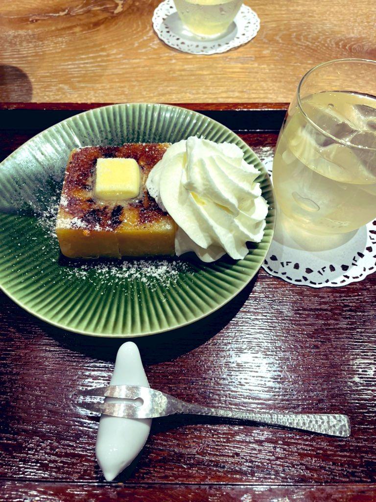 test ツイッターメディア - 芋ようかんの和三盆ブリュレa https://t.co/5S98NQlROQ
