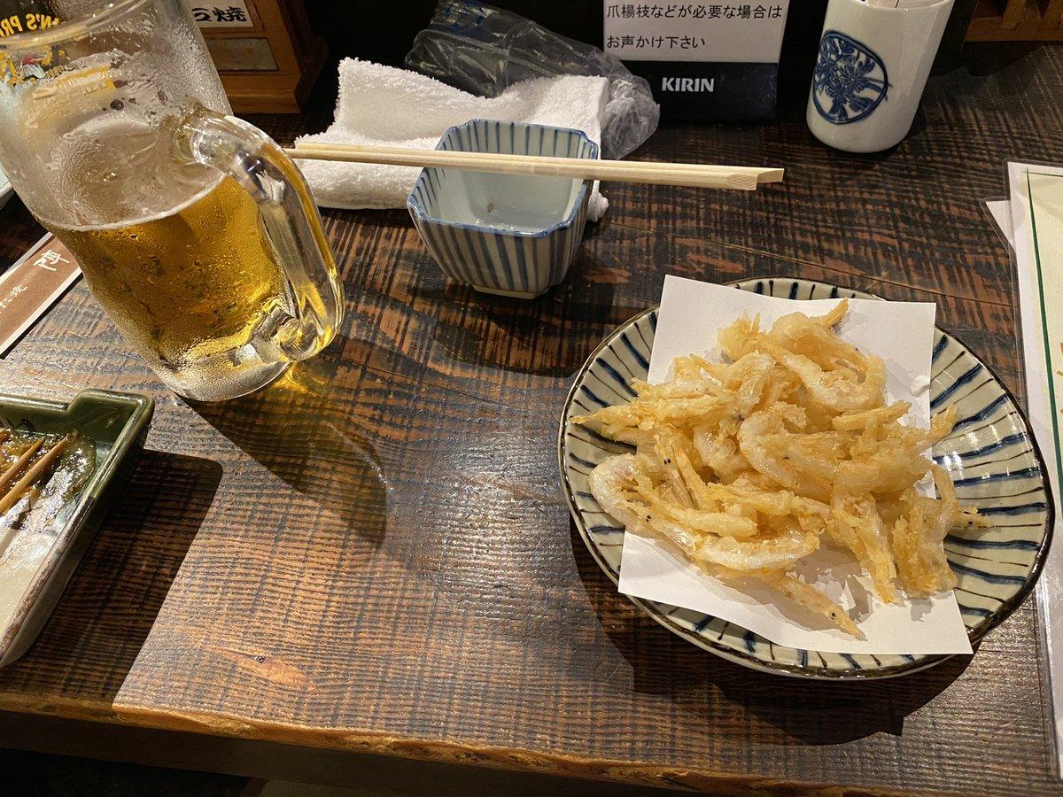 test ツイッターメディア - 富山県といえば白エビ! そして日本酒は勝駒🍶 https://t.co/roiNUlJZgQ