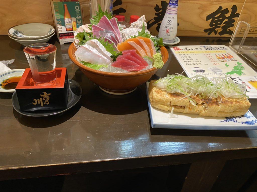 test ツイッターメディア - 新潟行ったら日本酒キメないと。。。 〆張鶴 フルーティーでめっちゃ飲みやすかった。。。 https://t.co/3Cyw2hkHnI